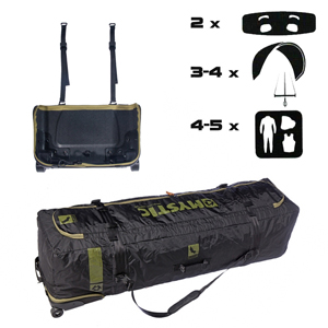 mystic, elevate, boardbag, kitesurf