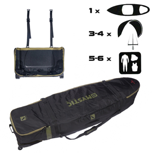 mystic, elevate, wave, boardbag, bag, surf, surfbag, kitesurf