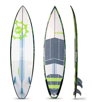 SURFBOARD SLINGSHOT, SURF & KITE BRETTER by H2O